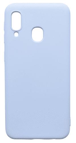 Mobilnet gumové pouzdro pro Samsung Galaxy A20e, světlemodrá