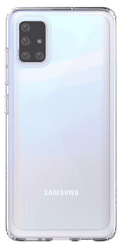 Samsung silikonové pouzdro pro Samsung Galaxy A51, transparentní