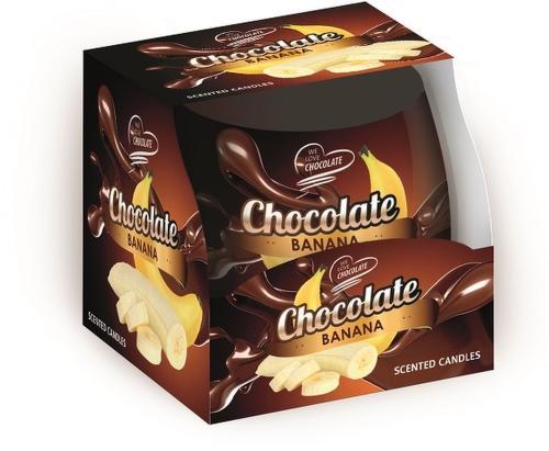 Sweet Home čokoláda-banán, Vonní svíčka