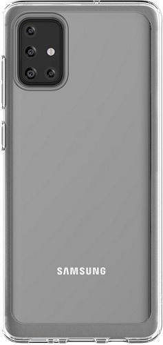 Samsung silikonové pouzdro pro Samsung Galaxy A71, transparentní