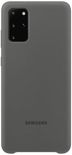 Samsung Silicone Cover pro Samsung Galaxy S20+, šedá