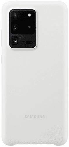 Samsung Silicone Cover pro Samsung Galaxy S20 Ultra, bílá