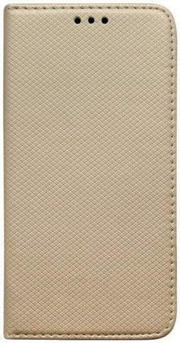 Mobilnet knižkové pouzdro pro Xiaomi Redmi Note 8 Pro, zlatá
