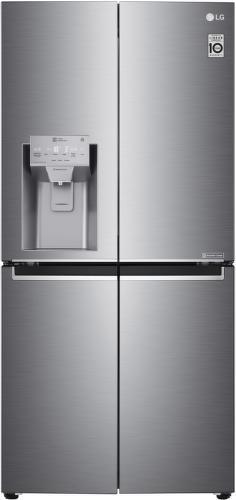 LG GML844PZKZ, stříbrná smart americká chladnička