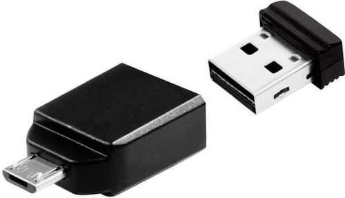 Verbatim StoreStay - micro USB adaptér + 32GB Nano USB 2.0