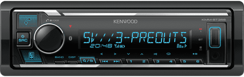 KENWOOD ELECTRONICS KMM-BT356