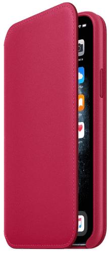 Apple Leather Folio knížkové pouzdro pro iPhone 11 Pro, červená