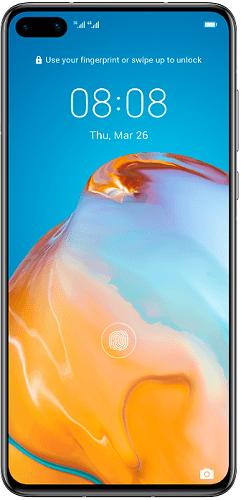 Huawei P40 Dual SIM bílá