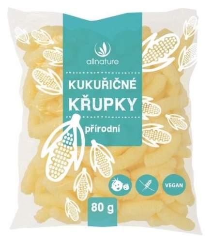 Allnature Kukuričné chrumky bezlepkové 80 g