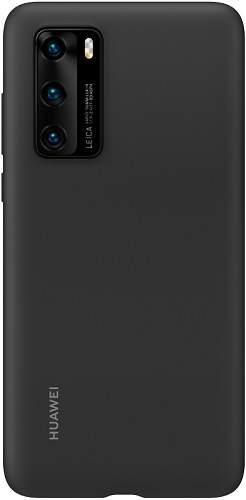 Huawei silikonové pouzdro pro Huawei P40, černá
