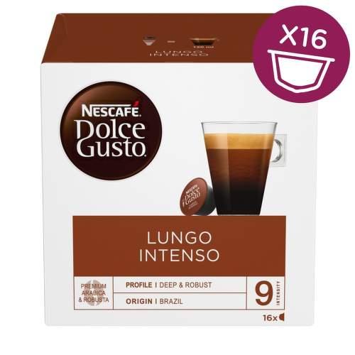 Nescafé Dolce Gusto Lungo Intenso kávové kapsle 16 ks