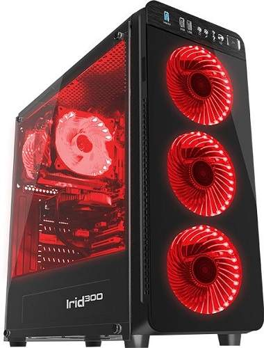 Genesis Irid 300 červená