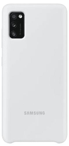 Samsung silikonové pouzdro pro Samsung Galaxy A41, bílá