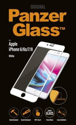 Panzerglass Premium tvrzené sklo pro Apple iPhone 6/6S/7/8, bílá