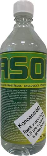 ASORe bio koncentrát 1 l - ekologický dezinfekční prostředek