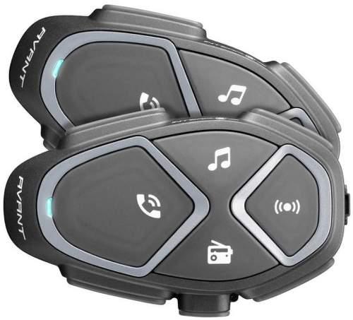 CellularLine Interphone Avant Twin Pack handsfree, černá