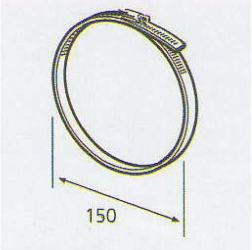 ELICA 3023 P / R, kruhová spona