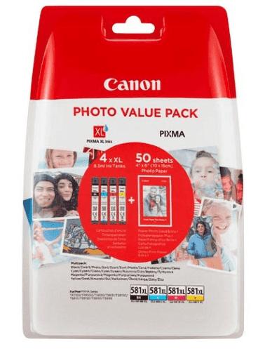 Canon CLI-581 XL balení inkoustových náplní