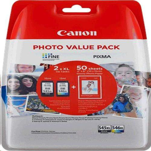 Canon Value Pack PG-545XL/CL-546XL