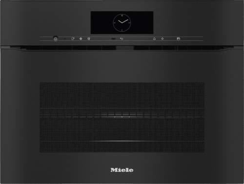 MIELE H7840BMX OBSW, čierna vstavaná rúra s mikrovlnami