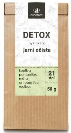 Allnature Detox bylinný čaj 50 g