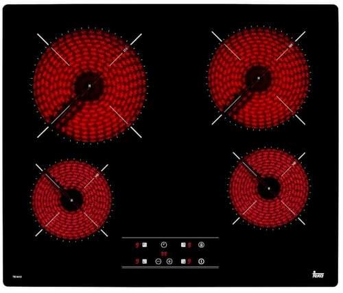 TEKA TB 6415, černá sklokeramická varná deska