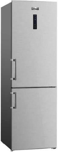 LORD C6, šedá kombinovaná chladnička
