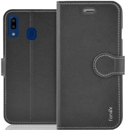 Fonex Identity flipové pouzdro pro Samsung Galaxy A20e, černá