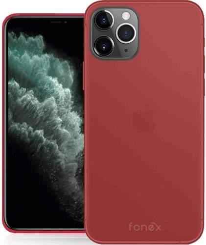 Fonex Gommy pouzdro pro Apple iPhone 11 Pro, červená
