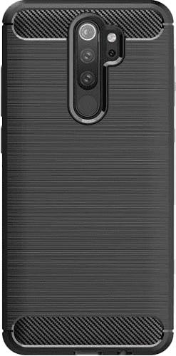 Winner Carbon pouzdro pro Xiaomi Redmi 9, černá