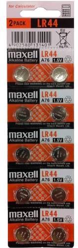 Maxell LR44/A76/V13  10ks