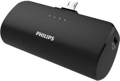 Philips Micro USB powerbanka 2500 mAh černá