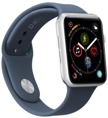 Sbs remienok pre Apple Watch 44 mm S/M modrá