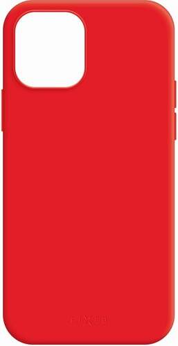 Fixed MagFlow pouzdro s podporou MagSafe pro Apple iPhone 12 Pro Max červená