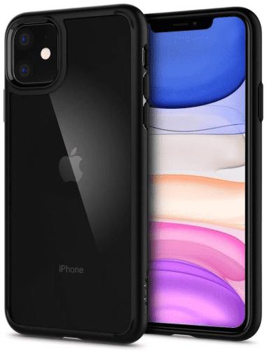 Spigen Ultra Hybrid puzdro pre Apple iPhone 11 čierna