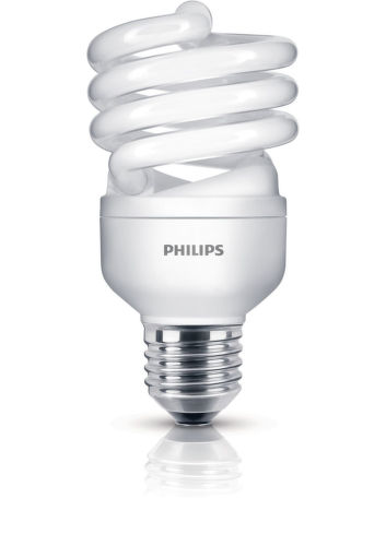 PHILIPS Economy Twister 20W WW E27 1PF/6