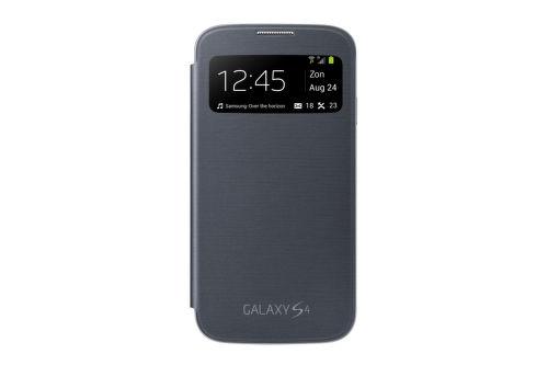SAMSUNG flipove puzdro s oknom EF-CI950BB pre Galaxy S 4 (i9505), black