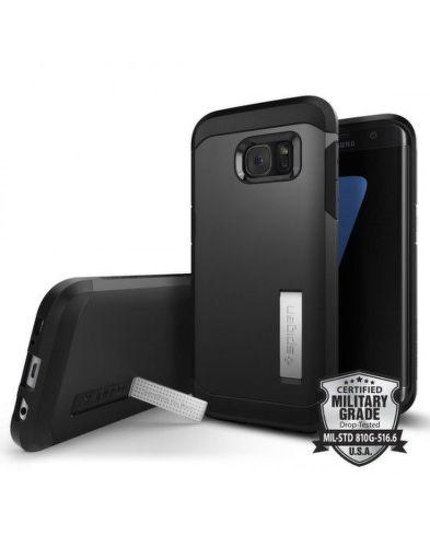 SPIGEN Galaxy S7 Edge BLK, Púzdro na mob_1