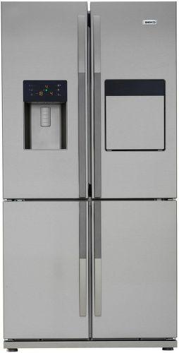 BEKO GNE 134630 X - nerezová americká chladnička