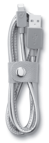 CellularLine LongLife Kabel s konektorem lightning (leather)