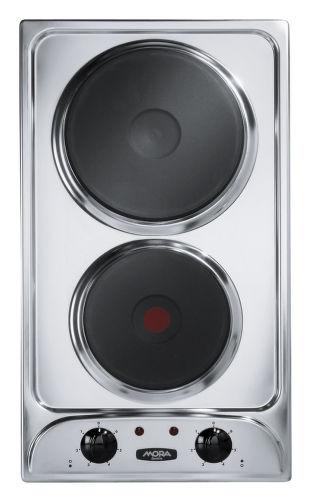 Mora VDE 310 X,  nerezová elektrická varná deska