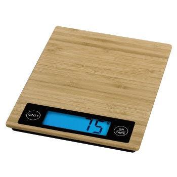 XAVAX 113956 Bambus, kuchynská váha