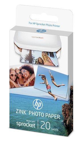 HP ZINK Sprocket, samolepící 20ks