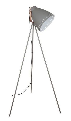 SOLIGHT Torino, Stojaca lampa šedá