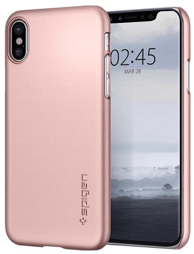 SPIGEN TF iPh X růžovo-zlaté
