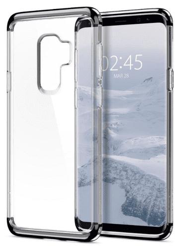 Spigen Neo Hybrid Crystal pouzdro pro Galaxy S9+, stříbrné