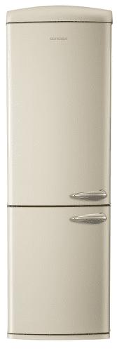 CONCEPT LKR7360cl, krémová kombinovaná chladnička