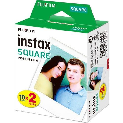 FUJI Square 2x10LIST, Film Instax