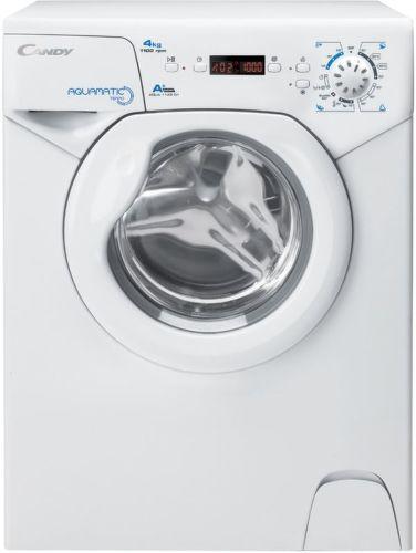 CANDY AQUA1142D1, FL - bílá slim pračka plněná zepředu