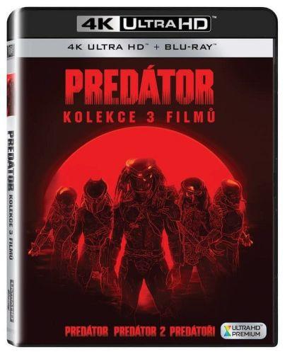Predátor 1-3 (kolekce) - 3x Ultra HD + Blu-ray film